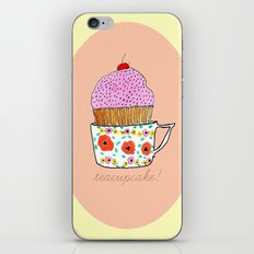 Teacupcake! iPhone & iPod Skin