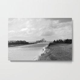 Le Mont Saint Michel 6b Metal Print