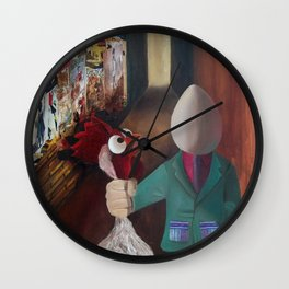The creation Wall Clock