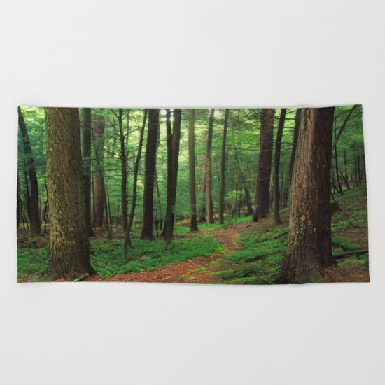 Forest 4 Beach Towel