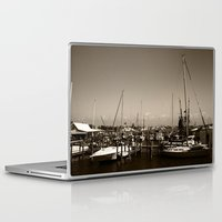 salt water Laptop & iPad Skins featuring Salt water sound  by Sandiest Photography