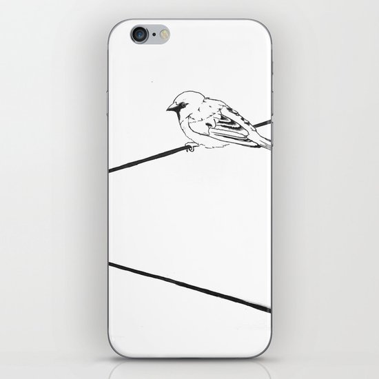 On a Wire iPhone & iPod Skin