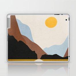 Minimal Art Landscape 9 Laptop & iPad Skin