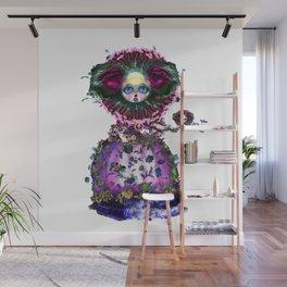 Beasts of Botanica - Black Mourning Bride's Extravagant Wedding Wall Mural