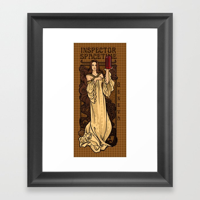 Theatre in Spacetime Framed Art Print