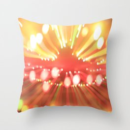 beaming no. 361 Throw Pillow
