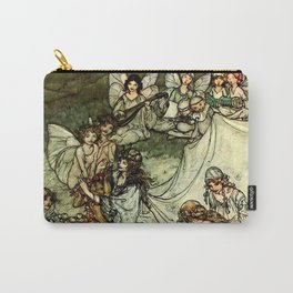 """Titania"" by Arthur Rackham From Shakespeare Carry-All Pouch"