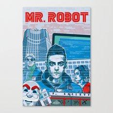 Mr. Robot Canvas Print