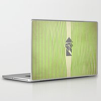 samurai Laptop & iPad Skins featuring SAMURAI by Ociaj