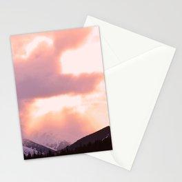 Rose Quartz Turbulence - II Stationery Cards