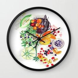 Nature's bounty Wall Clock