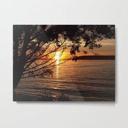 CJ Strike, Idaho Sunset Metal Print