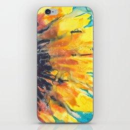 Free Flowing Sunflower iPhone Skin