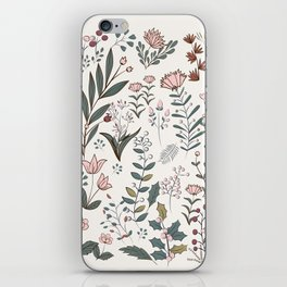 Winter Flowers II iPhone Skin