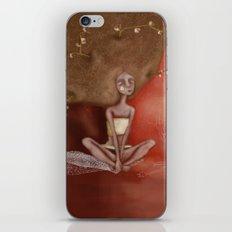 Tree girl iPhone & iPod Skin