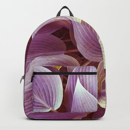 Violet leaves Backpack