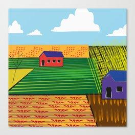 Campi (Fields) Canvas Print