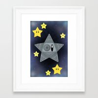 death star Framed Art Prints featuring Death Star by Verreaux