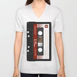 cassette K7 5 C90 Unisex V-Neck