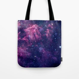 Space nebula Tote Bag