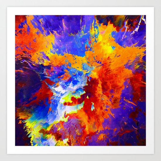 Jel Art Print
