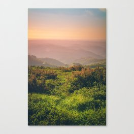 Sunset at Wonderland Canvas Print
