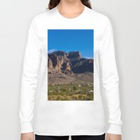 arizona Long Sleeve T-shirts featuring Arizona by Katie Villarreal