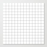grid Canvas Prints featuring Grid by STATE OF THE HEART
