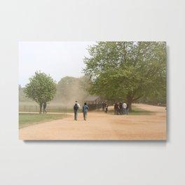 Oxford Dust Storm, UK Metal Print