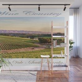 Wine County - McLaren Vale, South Australia Wall Mural