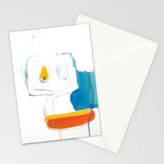 Orange + Blue Stationery Cards
