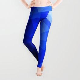 Monochromatic Blue Sphere Leggings