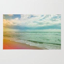 Beach in Colours Rug