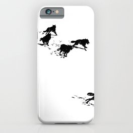 snowblinded // (wolf pack) iPhone Case