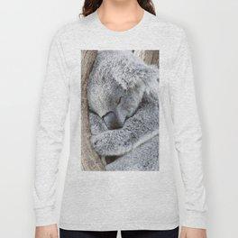 Sleeping Koala Long Sleeve T-shirt