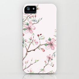 Apple Blossom Pink #society6 #buyart iPhone Case