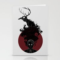 hannibal Stationery Cards featuring Hannibal by Sutexii