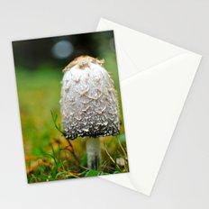 Fluffy mushroom Stationery Cards