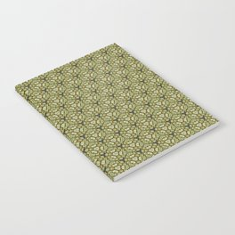 Yellow Apples Pattern Notebook