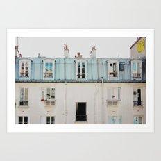 Paris Nº9 Art Print