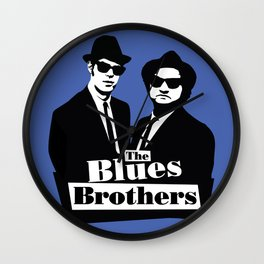 Blues Brothers Forever! Wall Clock
