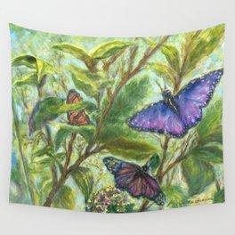 Butterfly Summer Fantasy by Marianne Fadden Wall Tapestry