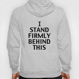 Howlin' Mad Murdock's 'I Stand Firmly...' shirt Hoody