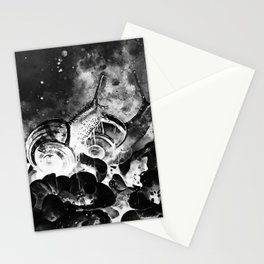 two snails make love wsbwi Stationery Cards