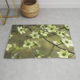 Green Kousa Dogwood Rug