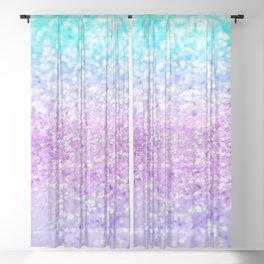 Unicorn Girls Glitter #9 #shiny #decor #art #society6 Sheer Curtain