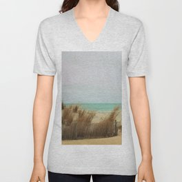 Aqua Sea Breeze Unisex V-Neck