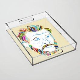 Bon Iver Acrylic Tray
