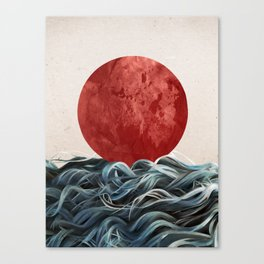 Sunrise in Japan Canvas Print