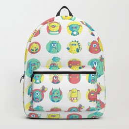 Monster party Backpack